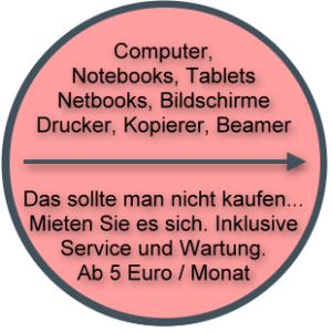 Computer Notebooks Tablets günstig mieten
