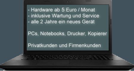 Hardwarevermietung bei imaKo