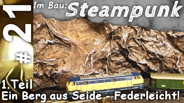 Spur Z Modellbau Berg in 1:220