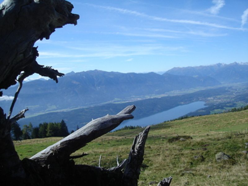Alpentäler und Berge