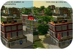 Cities Skylines SSAA-Mod