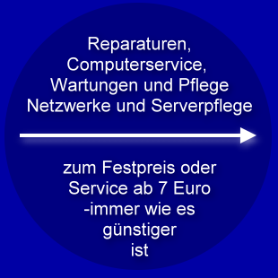 Computerservice ab 7 Euro
